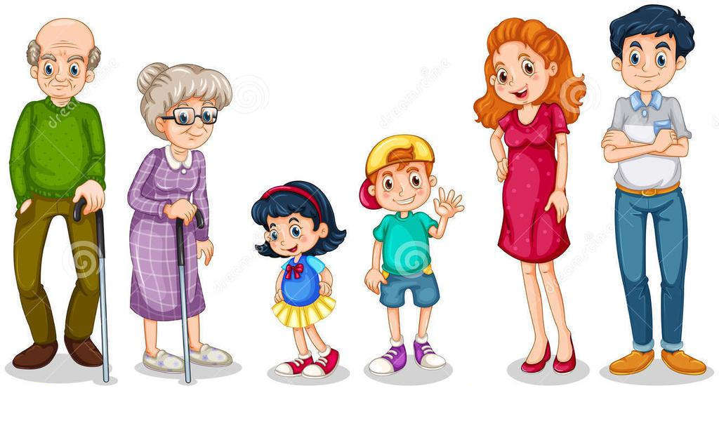 Free Family Members Clipart My.