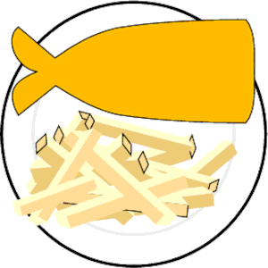 Fish & Chips 1 clipart, cliparts of Fish & Chips 1 free download.