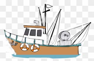 Free PNG Fishing Boat Clip Art Clip Art Download.