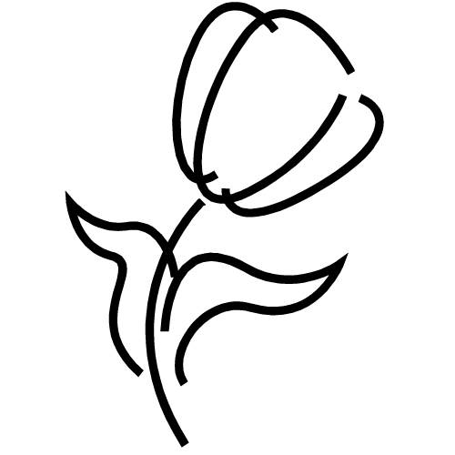 Free Flower Outline Clipart, Download Free Clip Art, Free Clip Art.