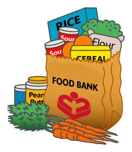 free clipart for food drive.