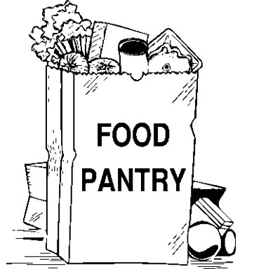 71+ Food Pantry Clipart.