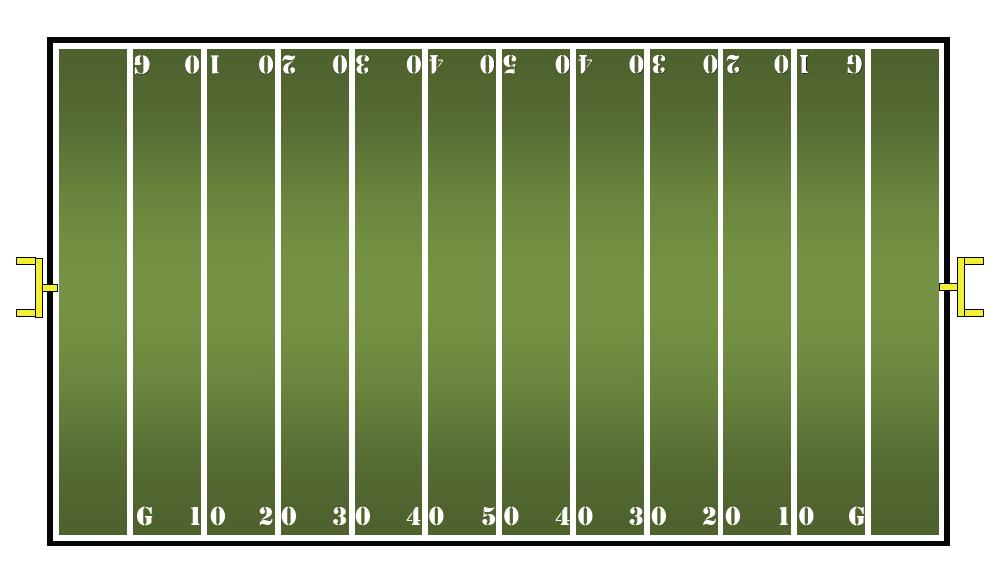 7+ Football Field Clip Art.