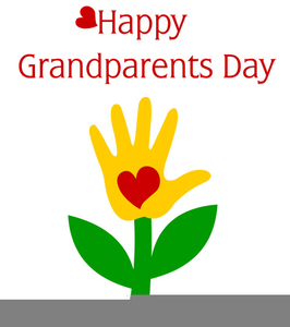 Free Clipart Of Grandparents Day.