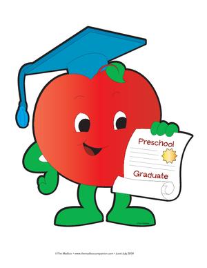 Preschool graduation clip art free clipart images.