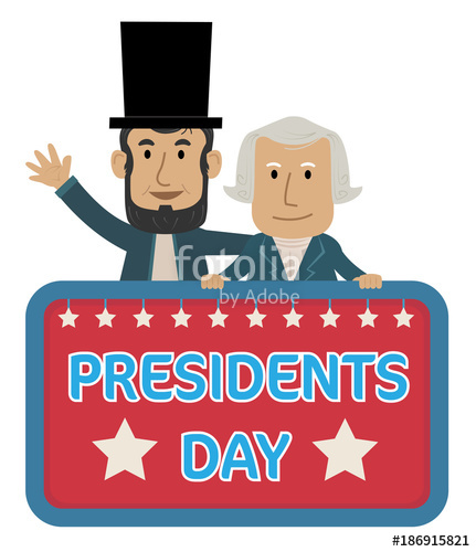 Presidents Day Clip.