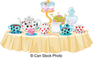 Tea party Clipart and Stock Illustrations. 9,151 Tea party vector.