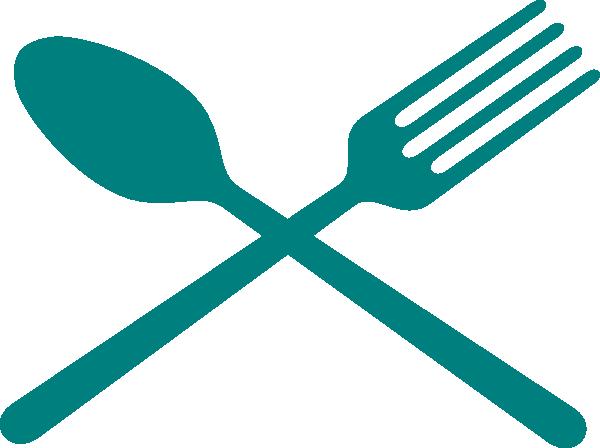 Fork And Spoon Cross Clip Art At Clker.com Vector Clip.