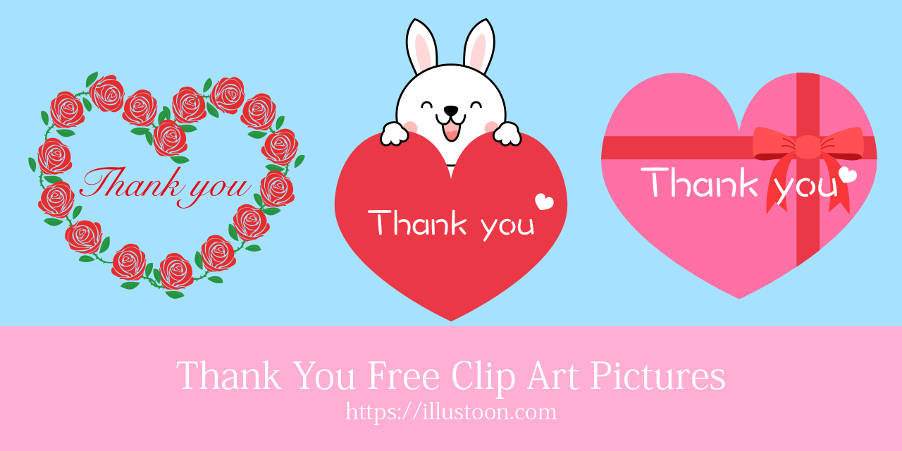 Thank You Free Clipart Pictures|Illustoon.