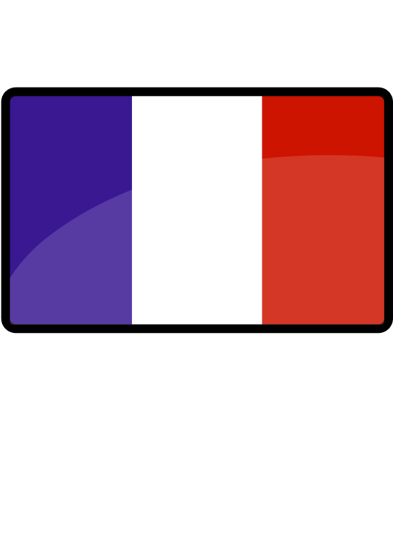 Free Clipart: French flag.