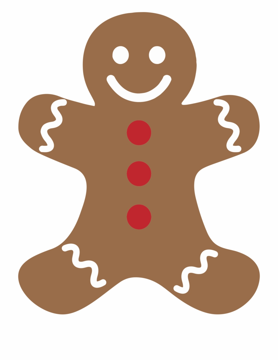 The Gingerbread Man Ginger Snap Christmas Cookie.