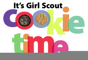Clipart Girl Scout Cookie.