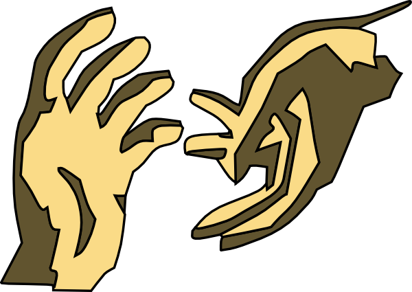 Giving Hands Clipart.