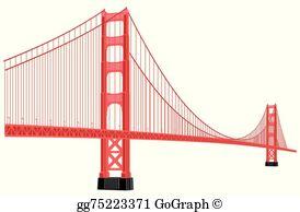 Golden Gate Bridge Clip Art.