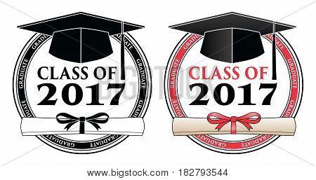 Graduating Class 2017 Vector & Photo (Free Trial).