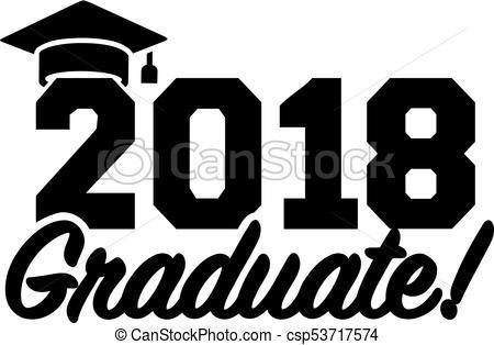 2018 graduate graduation.