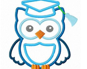 Owl Graduation Clipart.