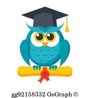 Graduation Owl Clip Art.