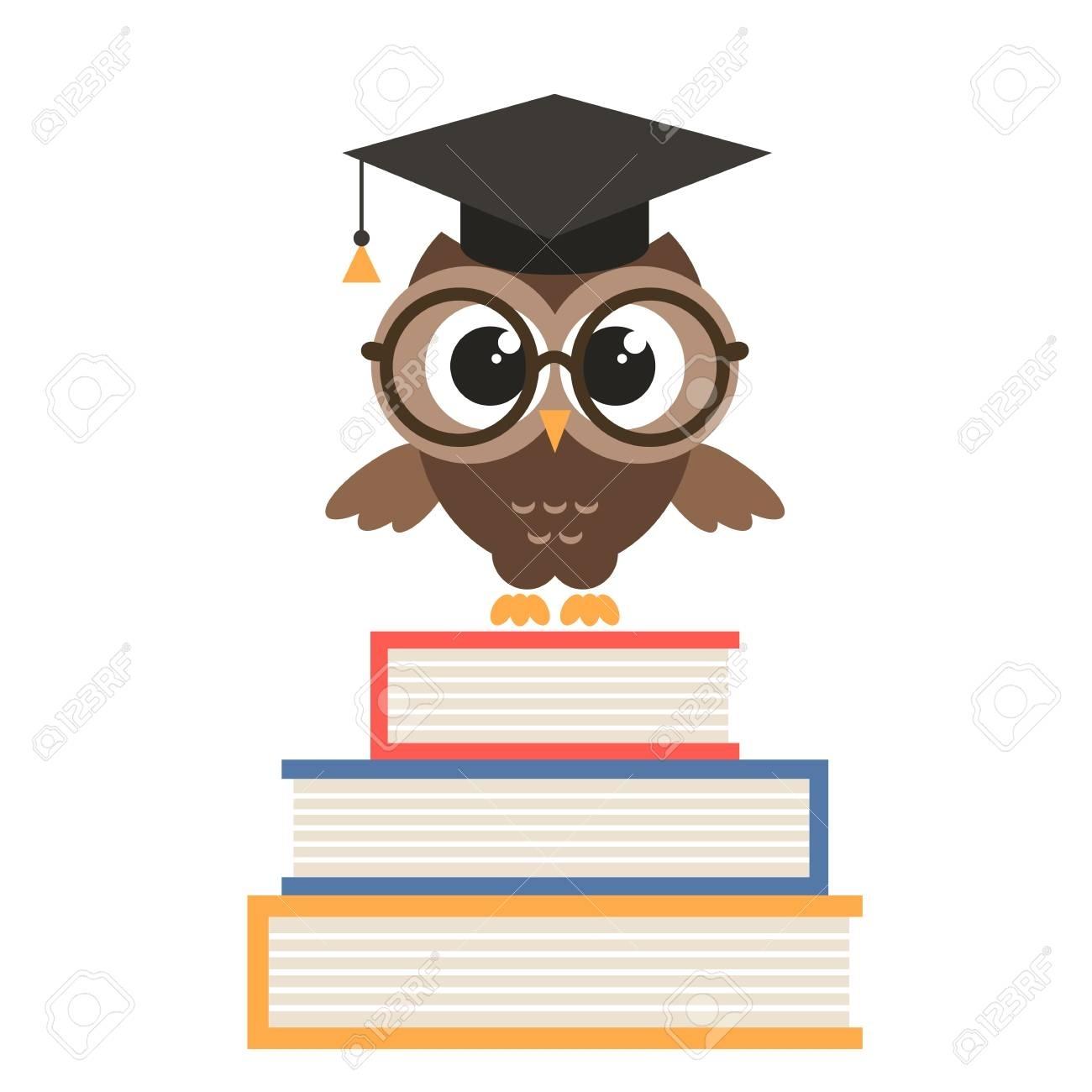 Graduation Owl Clipart.