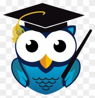 Free PNG Graduation Owl Clip Art Download.