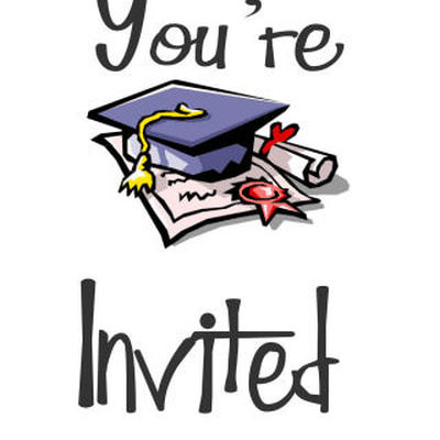 Graduation Party Clipart.