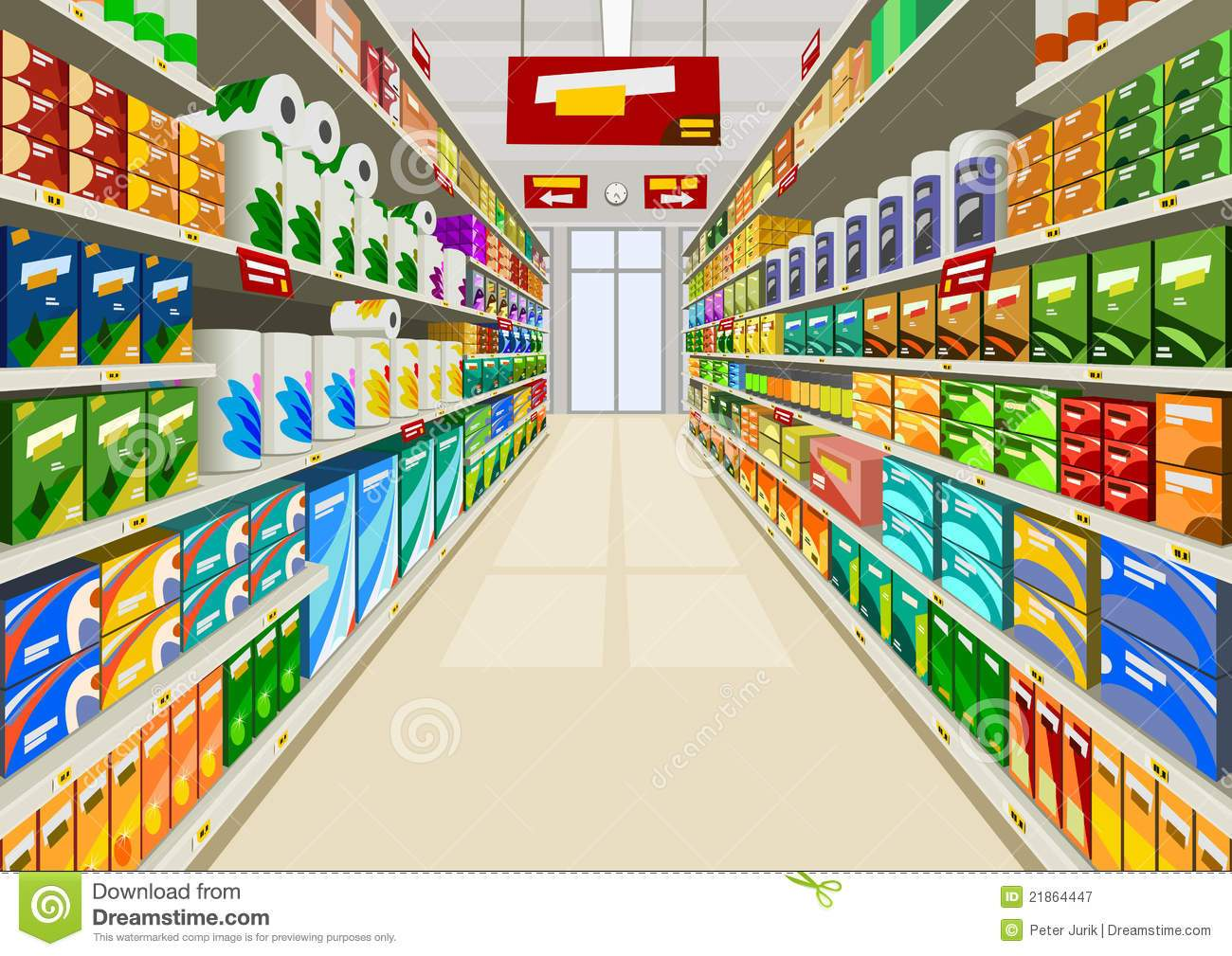 Free grocery store clipart 5 » Clipart Portal.