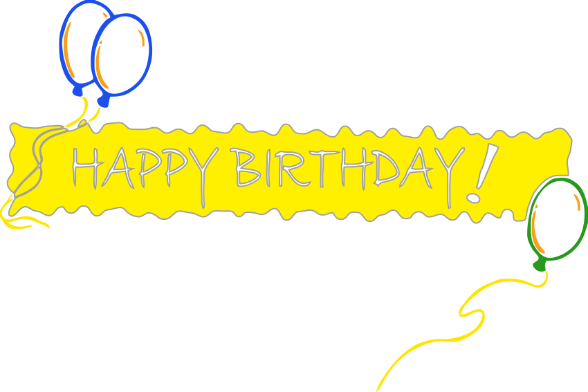 Free Birthday Banner Clipart, Download Free Clip Art, Free Clip Art.