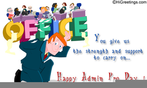 Happy Bosses Day Clipart.