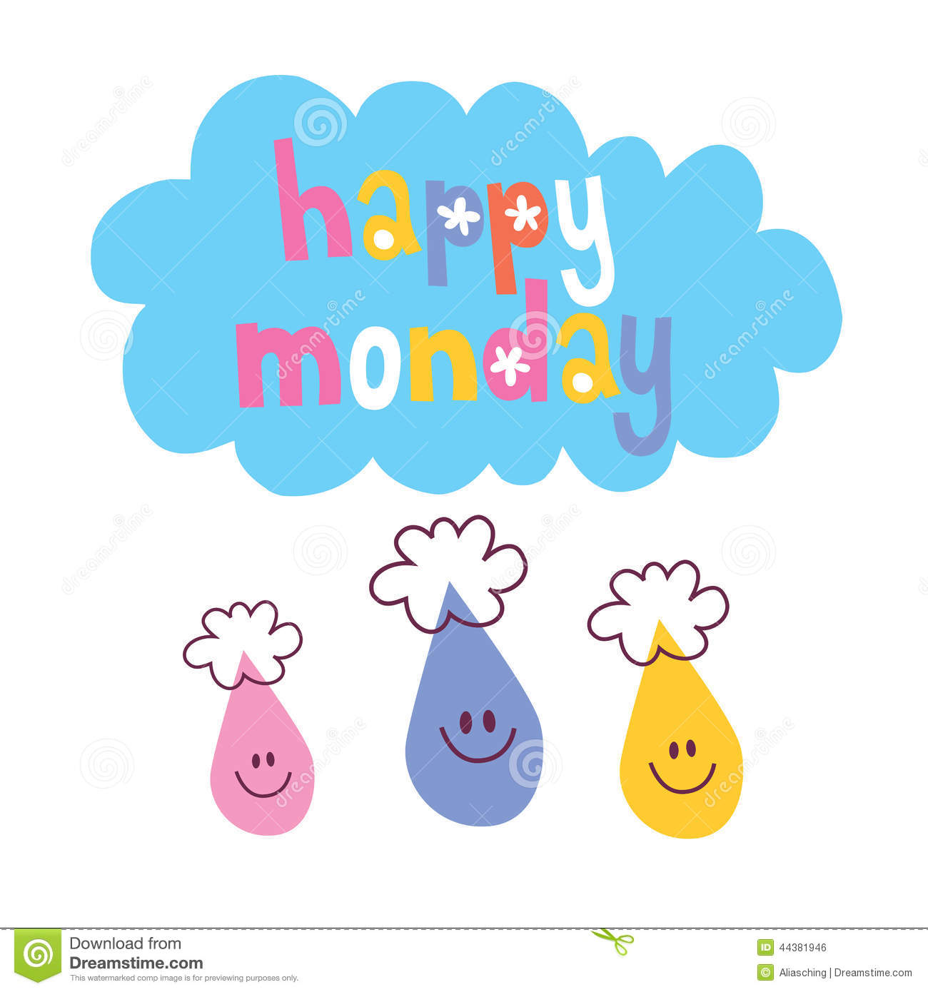 82+ Happy Monday Clip Art.