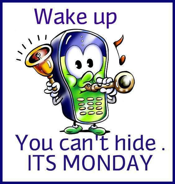 Happy Monday Clipart.
