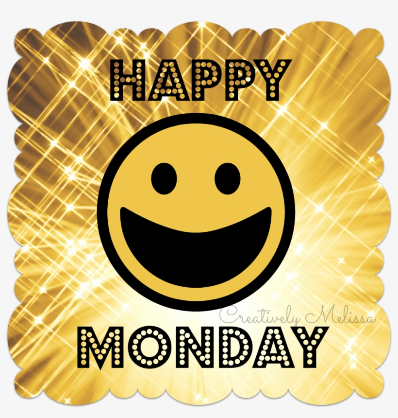 Banner Royalty Free Happy Monday Clipart.