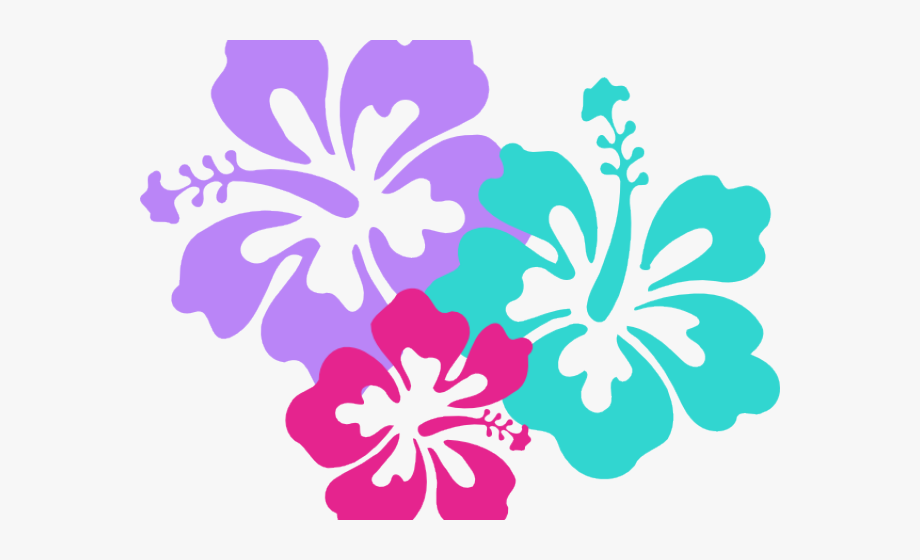 Clip Art Hawaiian Flower Black And White Clipart Panda.