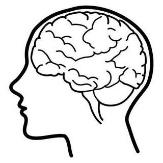 Cute Brain Cliparts.