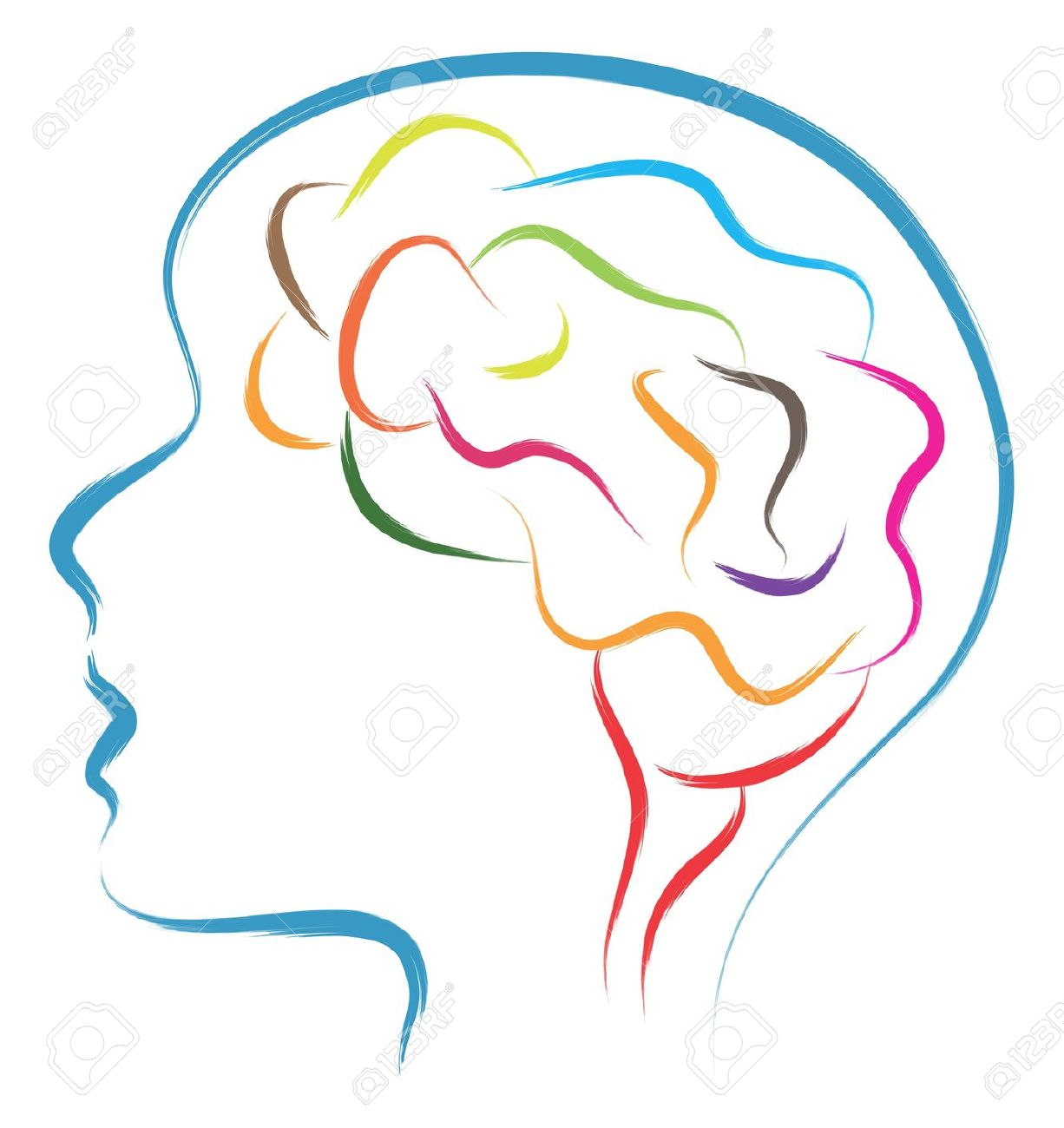 Head In Mind Clipart #1.