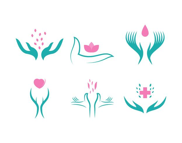 Free Outstanding Healing Hands Vectors.