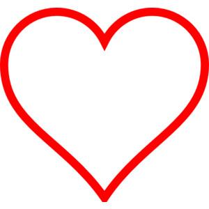 67+ Heart Outline Clip Art.