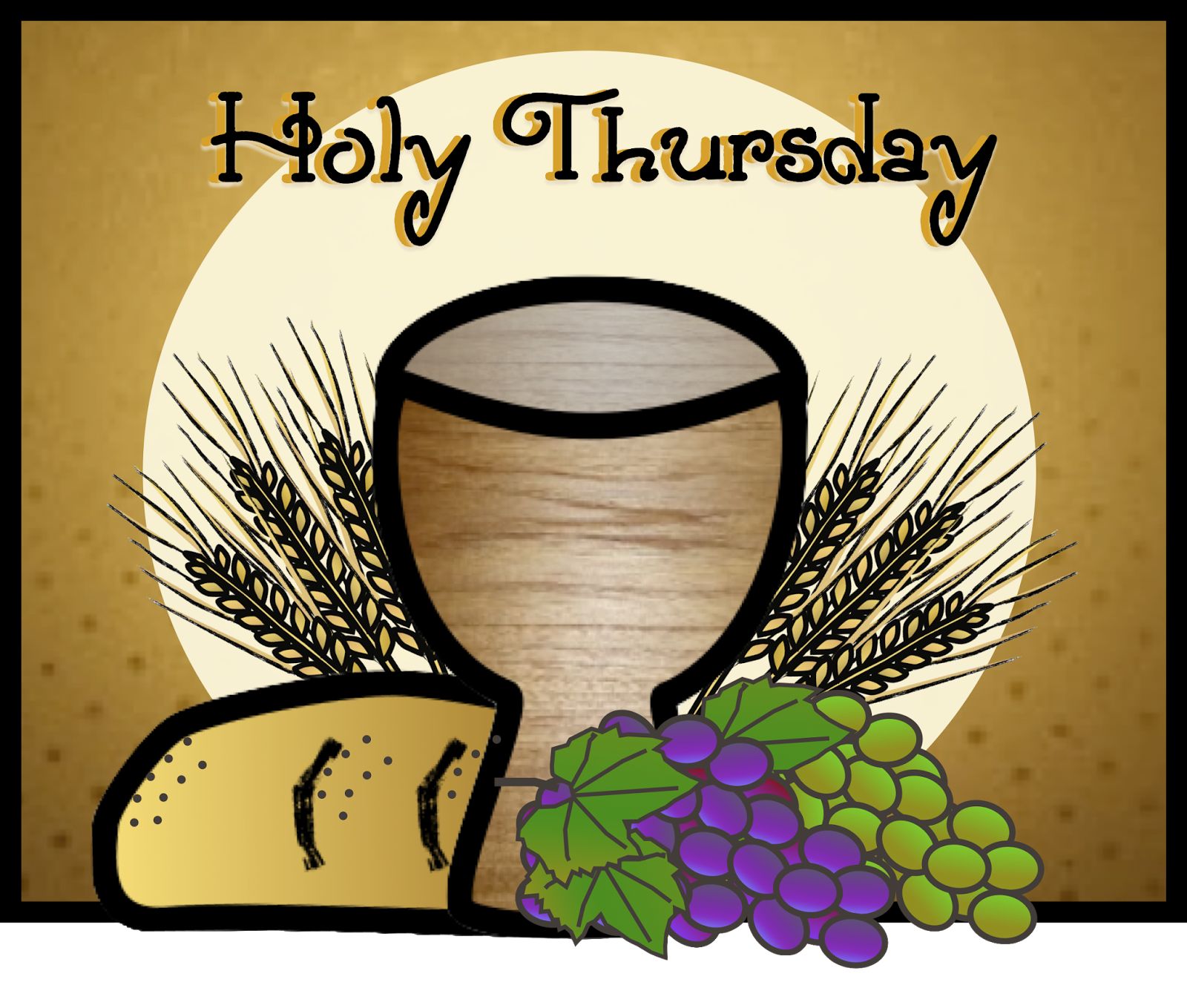 Faith Filled Freebies: Free Holy Thursday Clip Art from Charlotte's.