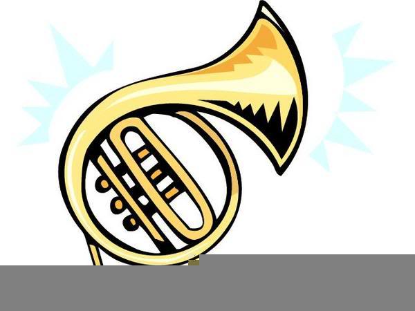 Free Clipart French Horn.