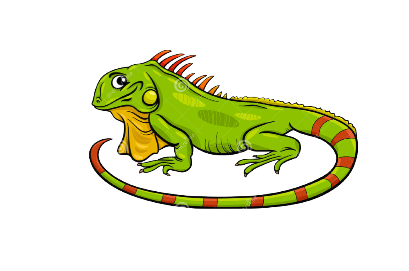 Iguana cartoon clipart images gallery for free download.