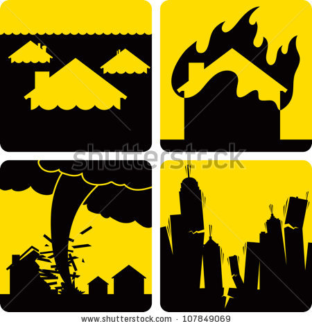 Disaster Stock Images, Royalty.