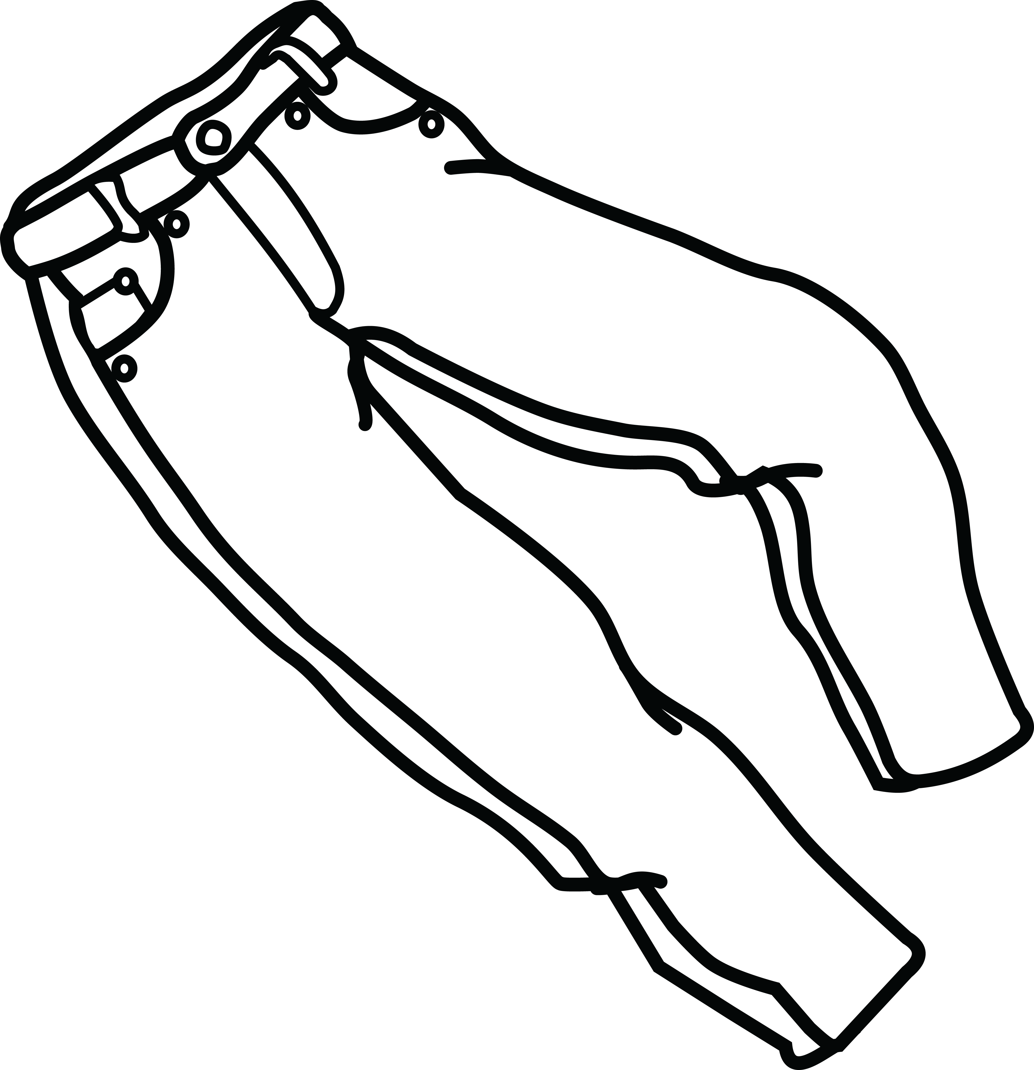88+ Jeans Clipart.