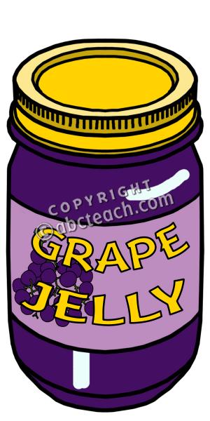 Clip Art: Grape Jelly Color.