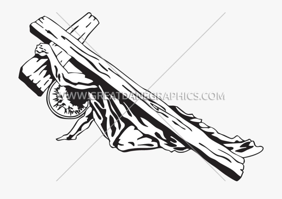 Jesus Carrying The Cross.
