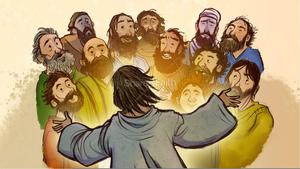 Disciples Of Jesus Clipart.