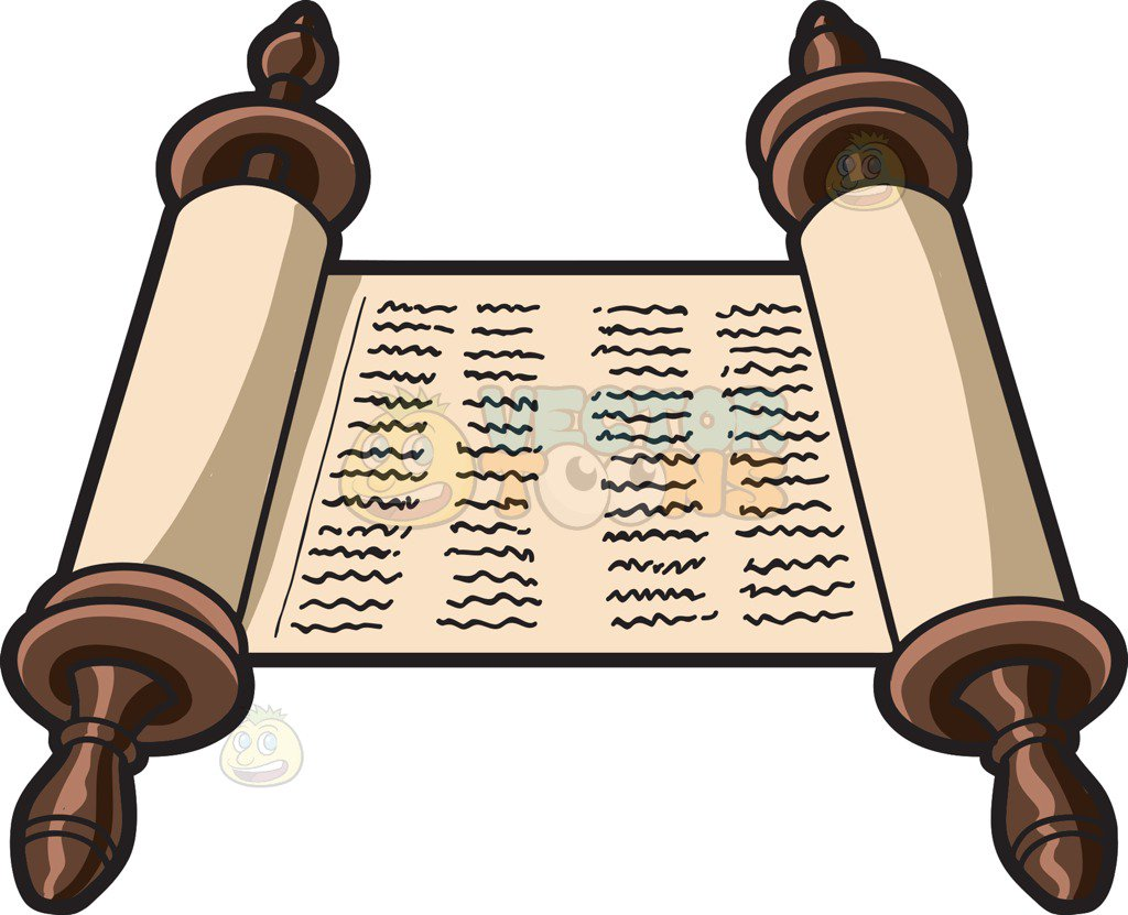 Torah Clipart Jewish Symbols Collection.