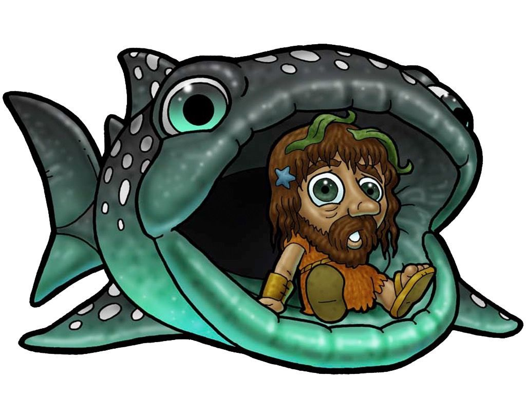 Lots of free Bible clipart even includes Jonah and the Great Fish.
