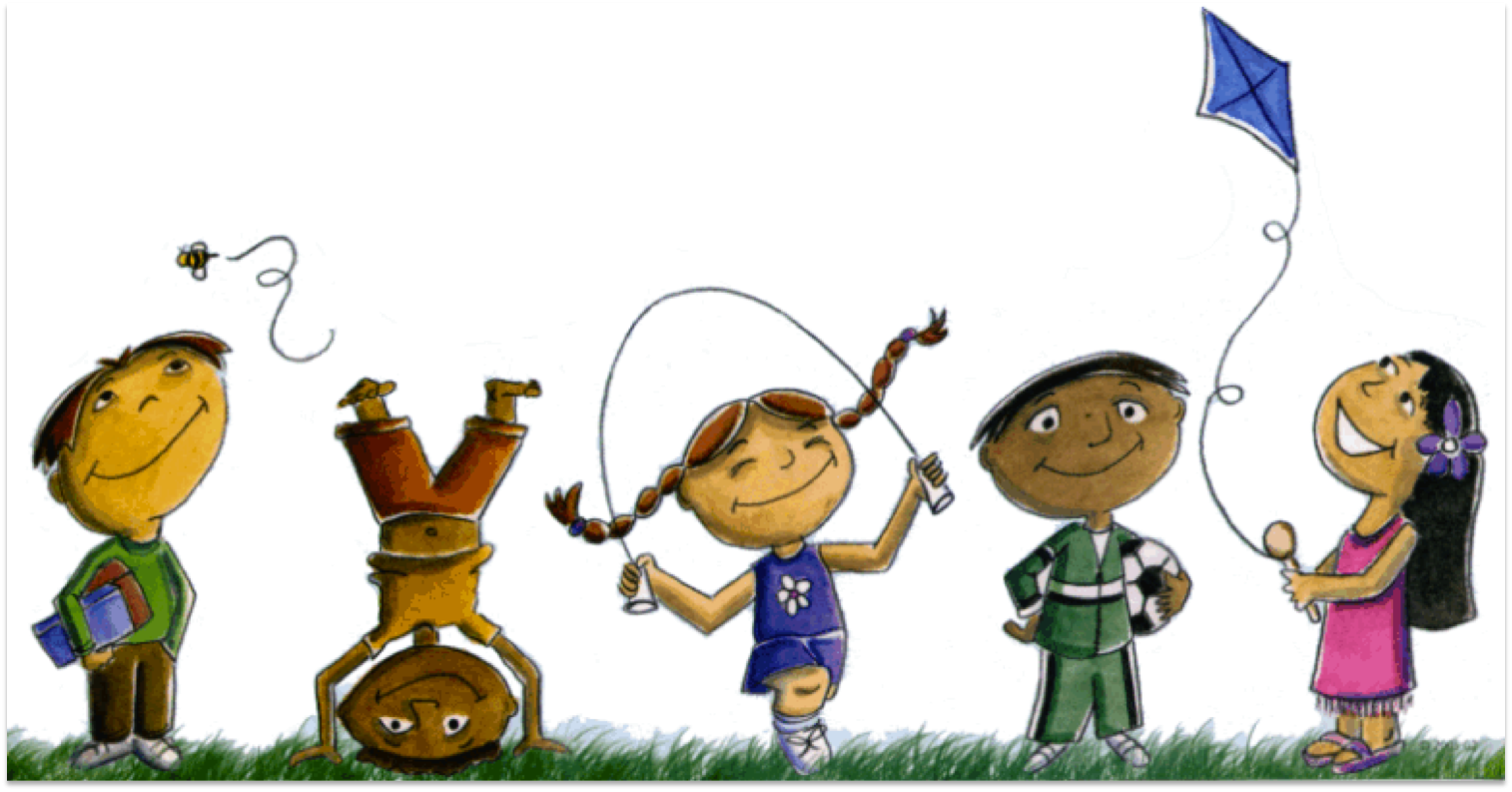 36+ Children Playing Clipart.