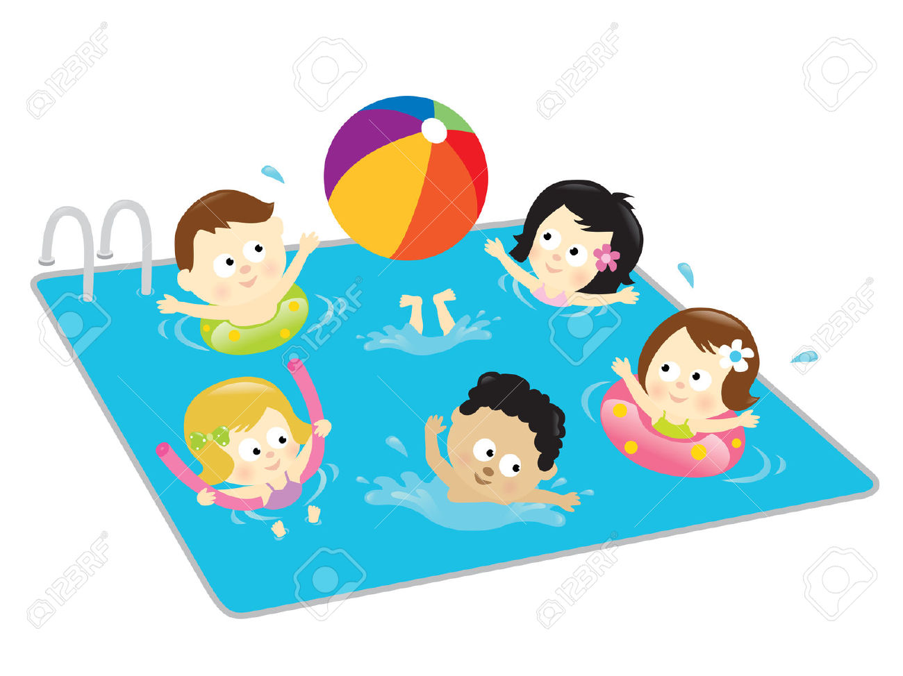 96+ Free Swimming Clipart.