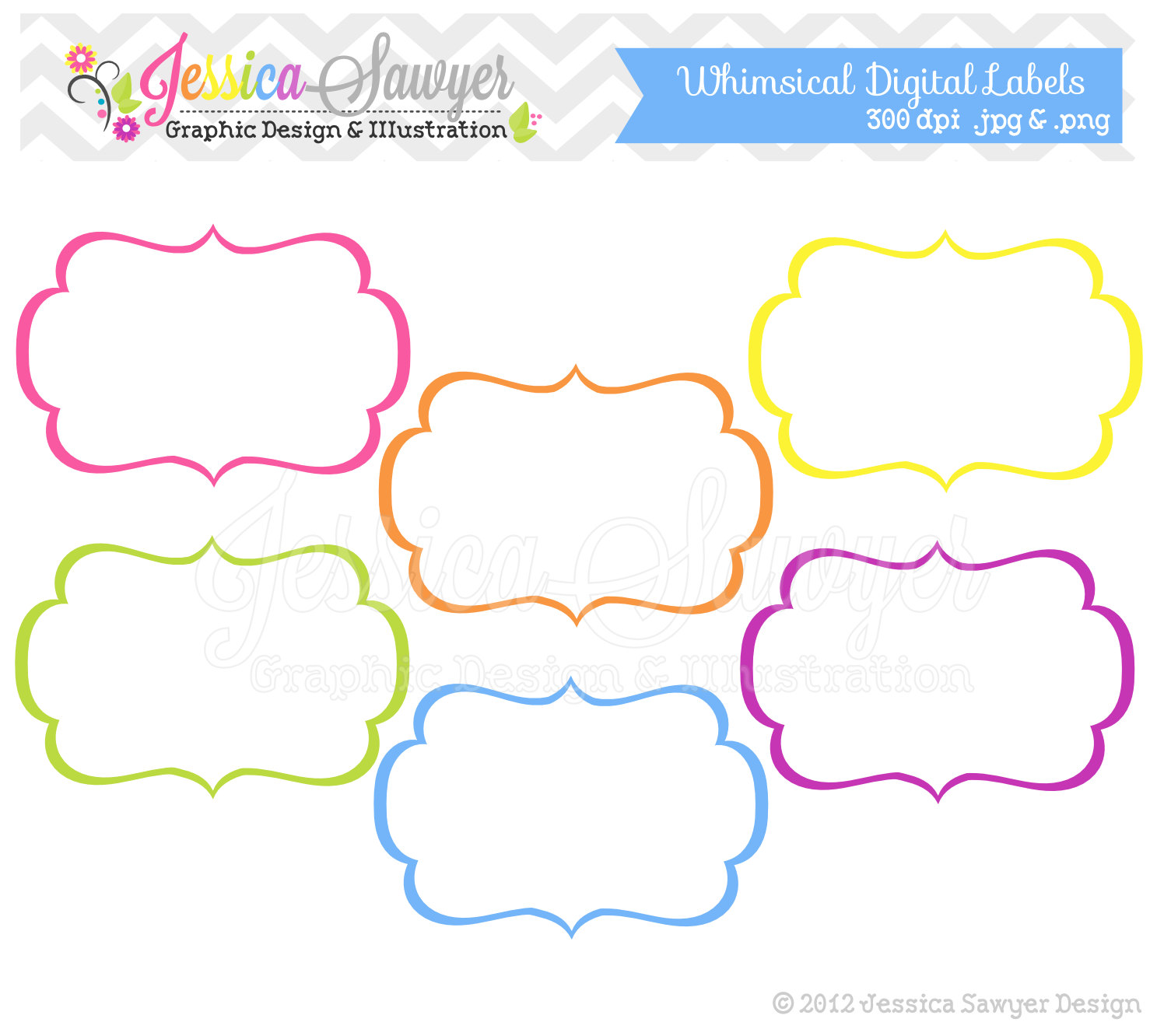 Labels Clip Art Templates.