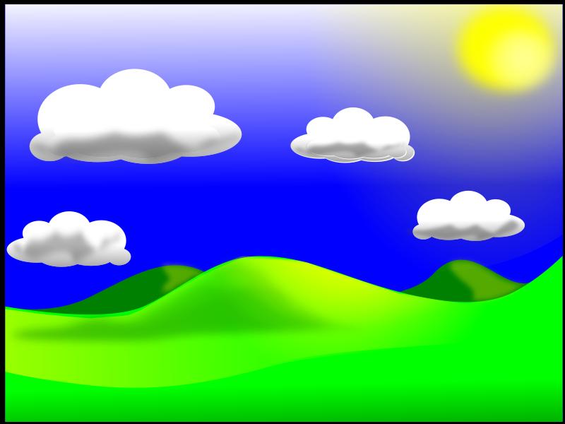 Landscape_02 Free Vector / 4Vector.